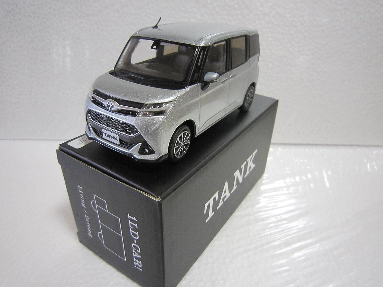 トヨタ 1/30 タンク TANK オフィシャルミニカー カラーサンプル ブライトシルバーメタリック S28 B01N4EUUFF