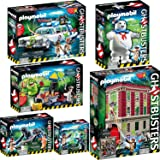 PLAYMOBIL 9219-20-21-22-23-24 Ghostbusters 6er-Komplett-Set
