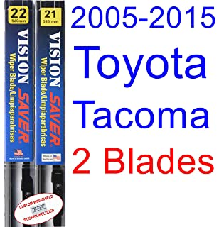 2005-2015 Toyota Tacoma Replacement Wiper Blade Set/Kit (Set of 2 Blades
