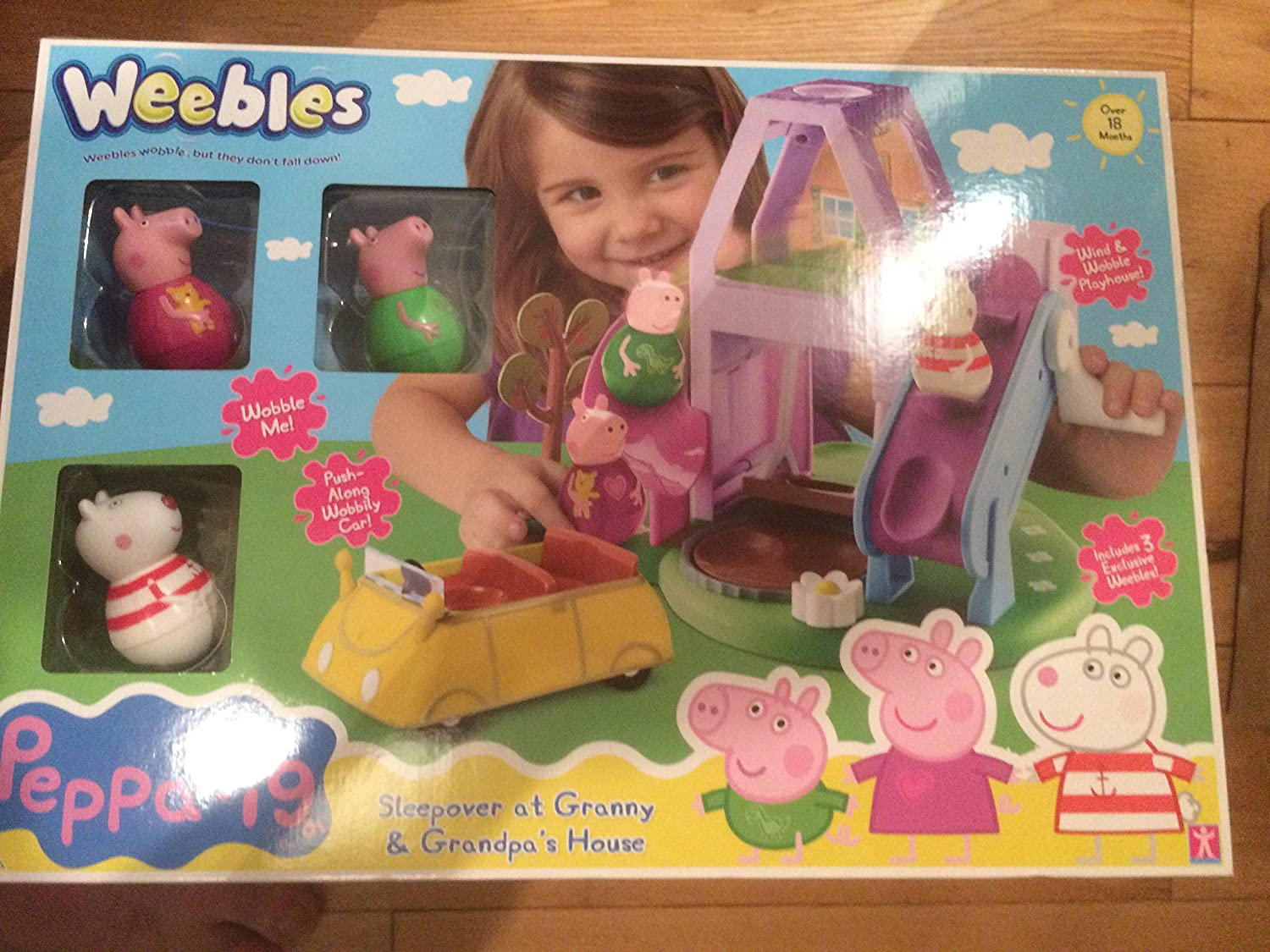 Peppa Pig Weebles abuela y abuelo casa Set: Amazon.es: Bebé