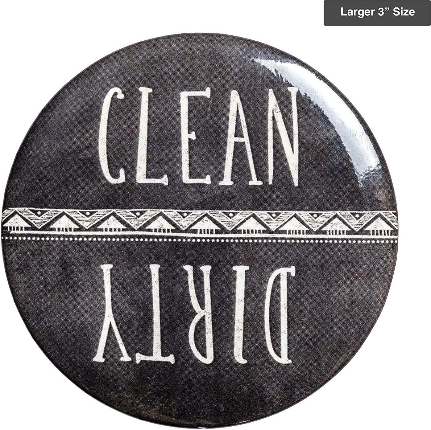 Sutter Signs Clean & Dirty Dishwasher Magnet (Chalkboard) Large 3""