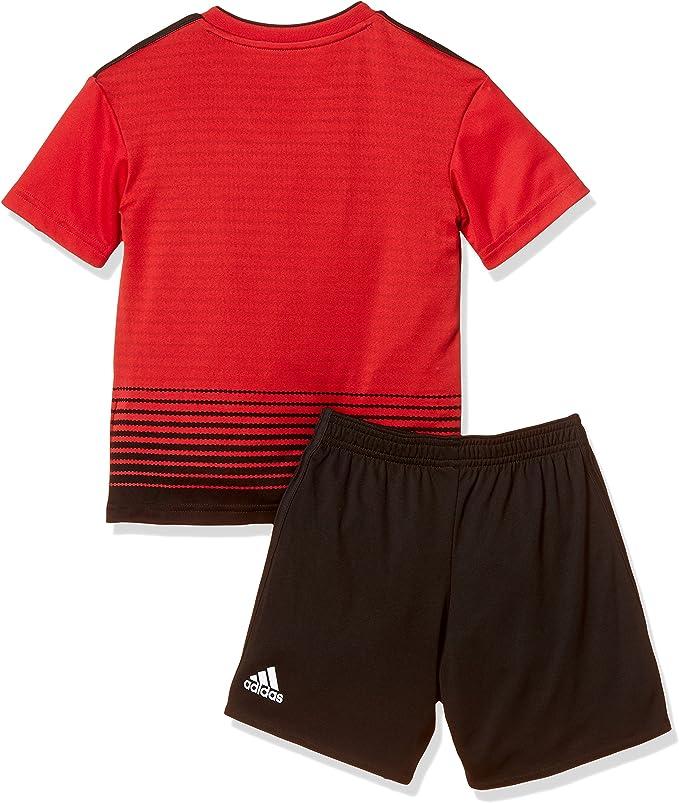 adidas 18/19 Manchester United Home Minikit Conjunto, Unisex bebé ...