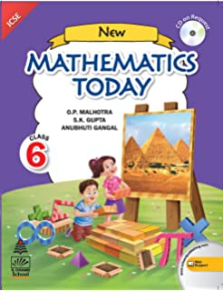 Icse Board Class 6 Maths Book