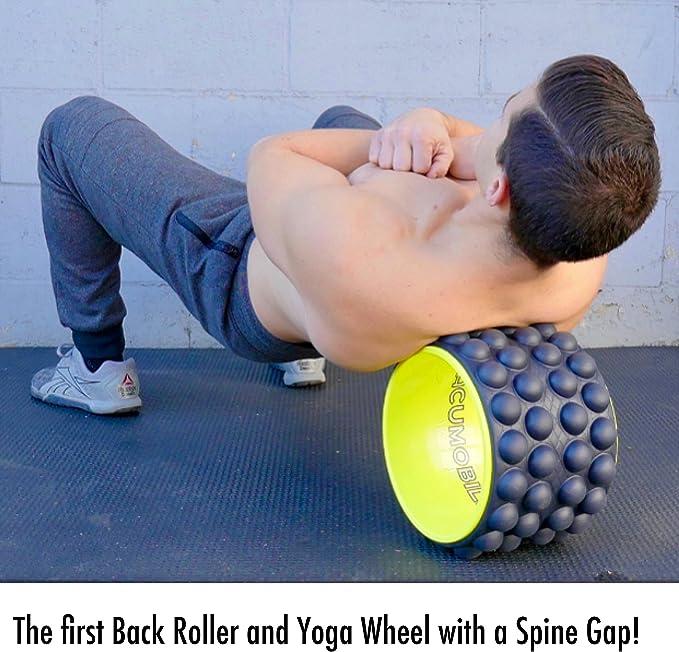 Acumobility The Ultimate Back Roller, myofascial Release, Trigger Point, Yoga Wheel, Foam Roller, Back Pain, Yoga Wheel for Back Pain, Back Massager, ...