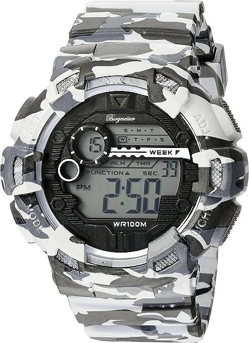 Burgmeister Reloj Digital para Hombre de Cuarzo con Correa en Plástico BM803-020