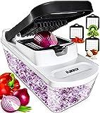 Vegetable Chopper Dicer Onion Chopper - Food Chopper Vegetable Cutter Veggie Chopper Onion Cutter Vegetable Dicer Salad…