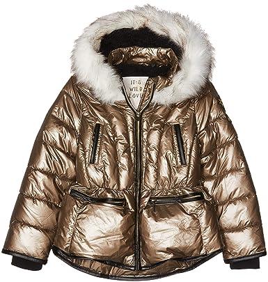 IKKS Doudoune Dorée, Blouson Fille  Amazon.fr  Vêtements et accessoires 3a964baa009