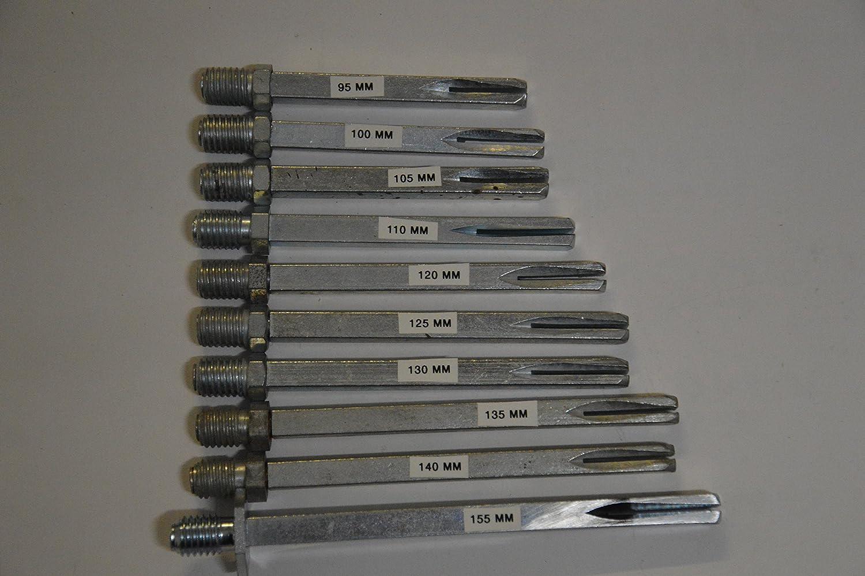 Wechselstift  8 x 105 mm Wechselstift Drückerstift 6mm Gewindeteil