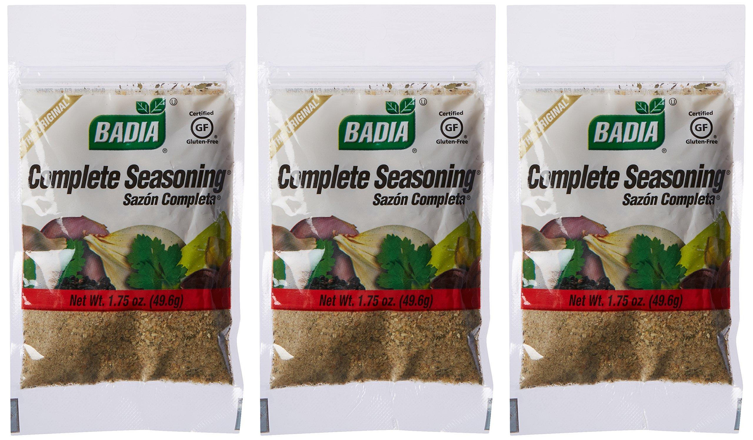 Badia Complete Seasoning 1.75 oz Pack of 3