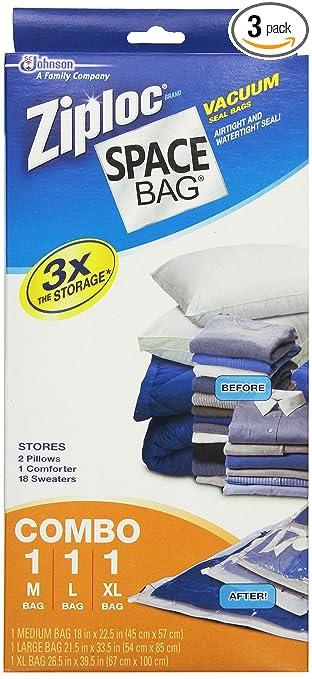 Amazon.com: Espacio Bolsa # brs-6239 vacío Seal Bolsas de ...