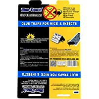 Blue Touch 18 Mouse Glue Traps, Professional Sticky Glue Traps/Boards for mice/Insect/Lizard/Spider/House pests. 8.5 X 5…