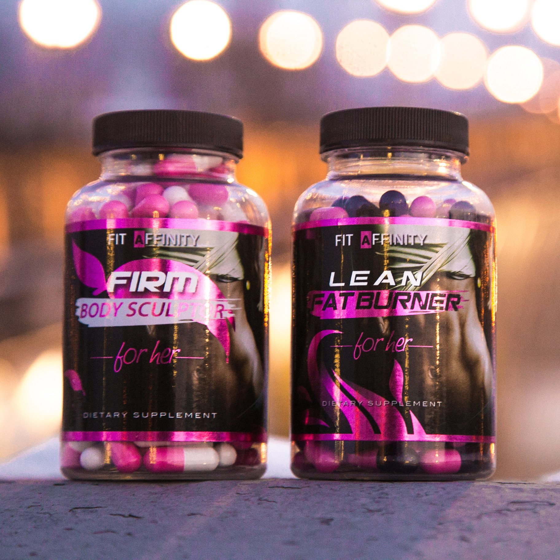 FIT AFFINITY Lean & Sculpted Bundle - Fat Burner for Women • Best All Natural Weight Loss Pills - Thermogenic Fat Loss Supplement & Appetite Suppressant Diet Pills - 90 Capsules (Each Bottle) by Fit Affinity (Image #7)
