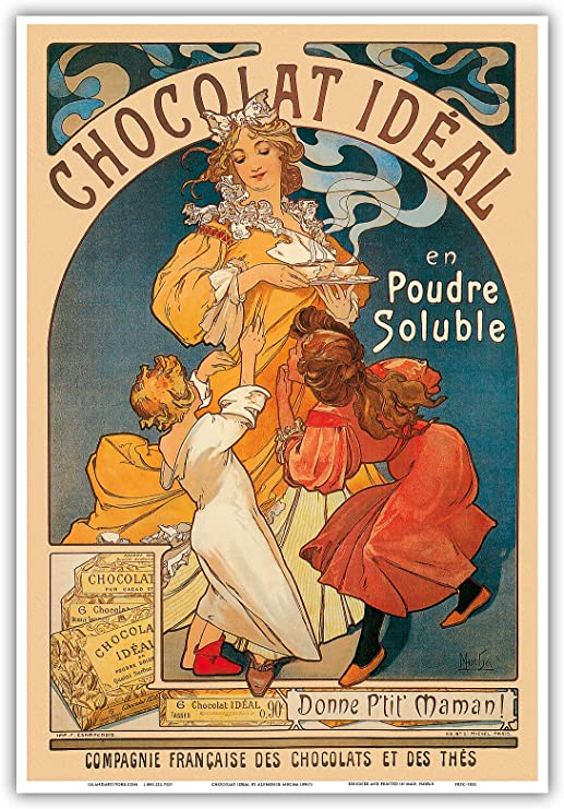The Slav Epic French Nouveau Alphonse Mucha Vintage Advertisement Art Poster