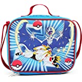 FABNY Pokemon Blue & Red School Lunch Bag