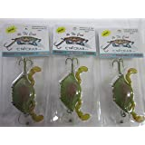 3 Pack Sinker, Floater, Suspender CW Crab Fishing Lures-50% Off!