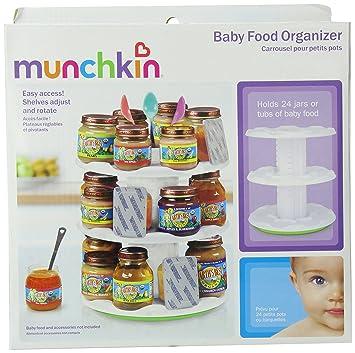 Munchkin Deluxe Baby Food Organizer  sc 1 st  Amazon.com & Amazon.com : Munchkin Deluxe Baby Food Organizer : Baby Food Storage ...