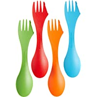 Light my Fire Original BPA-Free Tritan Spork Multi-Color 4-Pack