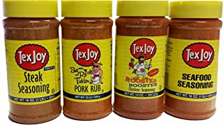 product image for Texjoy seasoning 4 pack for Surf, Turf, Barn & Coop