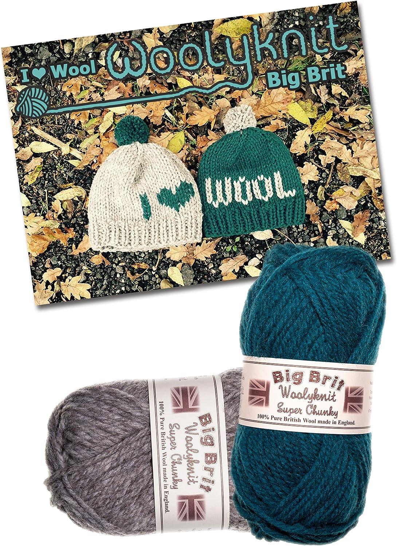 I Love gorro de lana para tejer Bundle Pack. Lana y patrón para tejer siempre.: Danielle Parkin: Amazon.es: Juguetes y juegos