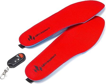 Größe: M Beheizte Schuhsohle mit Fernbedienung L 41-46 35-40