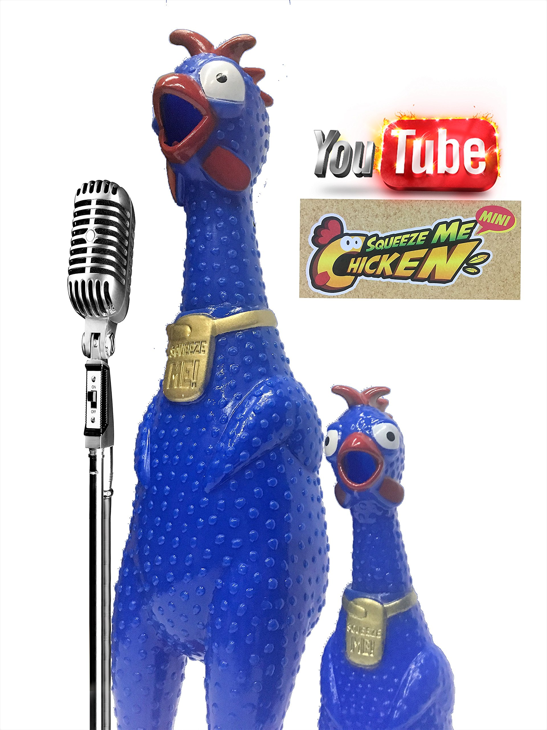 Animolds Value Bundle Screaming Mini Chicken from The Best Singing Chickens On YouTube (Mix24Pack) by Animolds (Image #8)