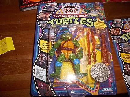 Amazon Com Teenage Mutant Ninja Turtles Movie Star Leo Toys Games