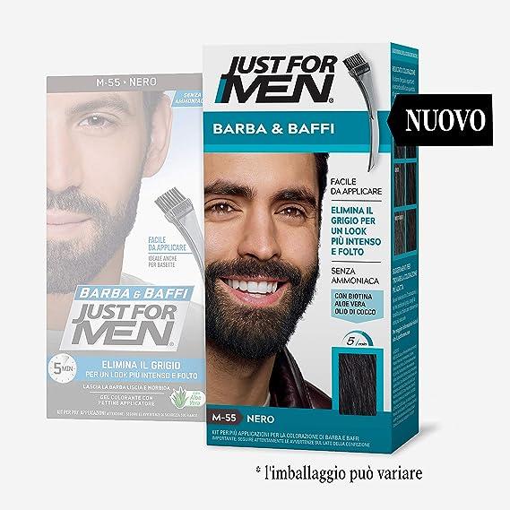 Just for Men® - Bigote y Barba M55 - Nero