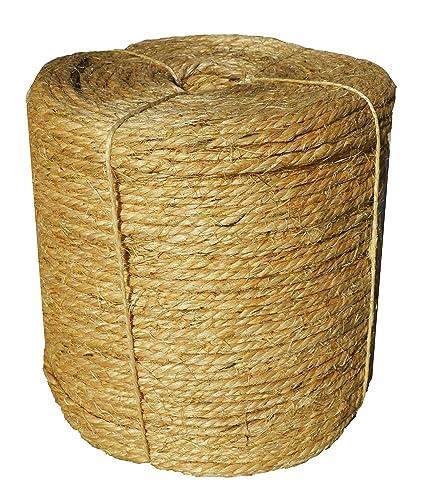 Amazon.com: Cuerda de sisal cordel 1/4 inch X 1000 ft – Bulk ...