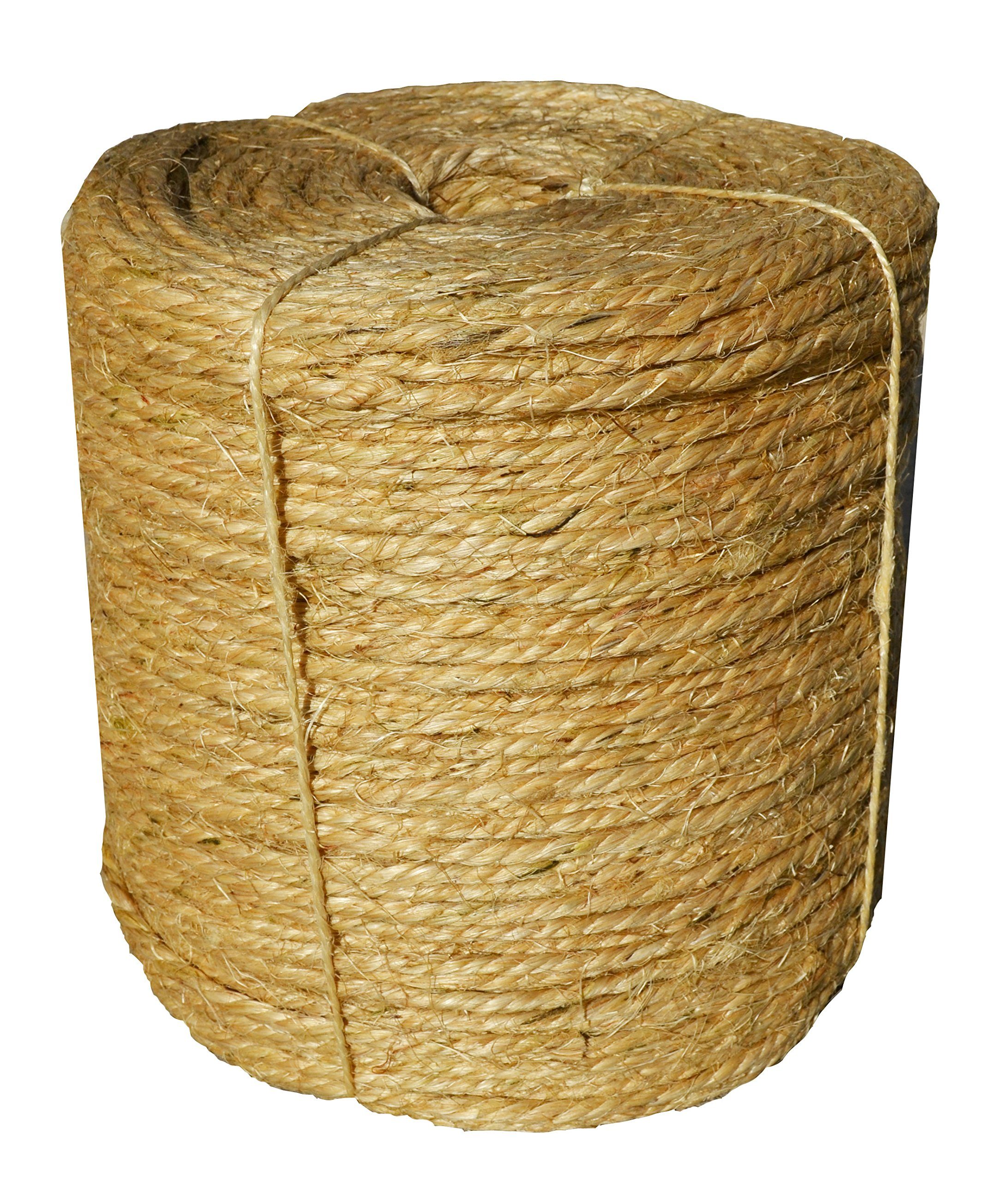 Sisal Rope Twine 1/4 inch x 1000 ft - Bulk Wholesale - Similar to Home Depot, Walmart, Lowes by Sandbaggy (1)