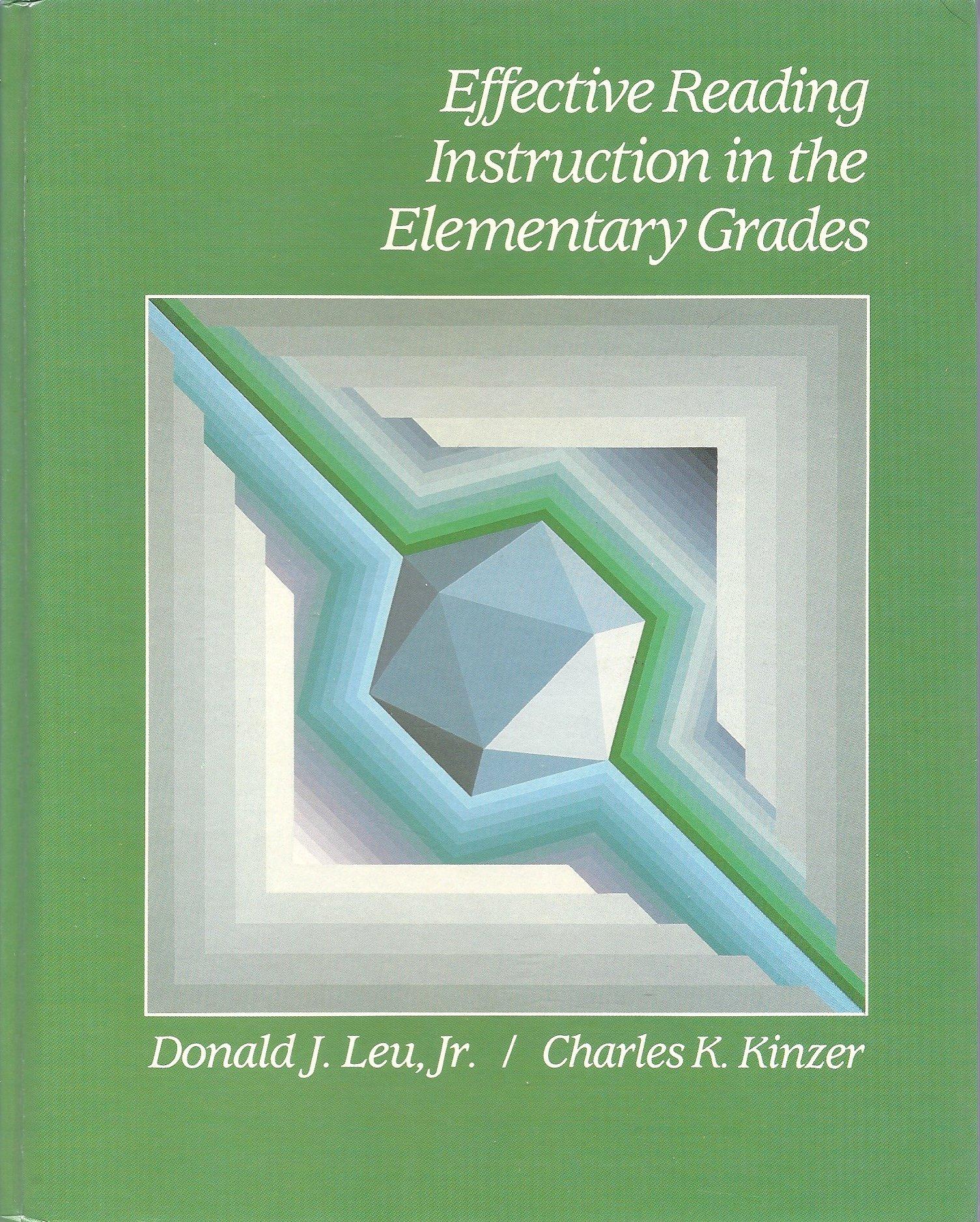 Effective Reading Instruction In The Elementary Grades Dj Leu