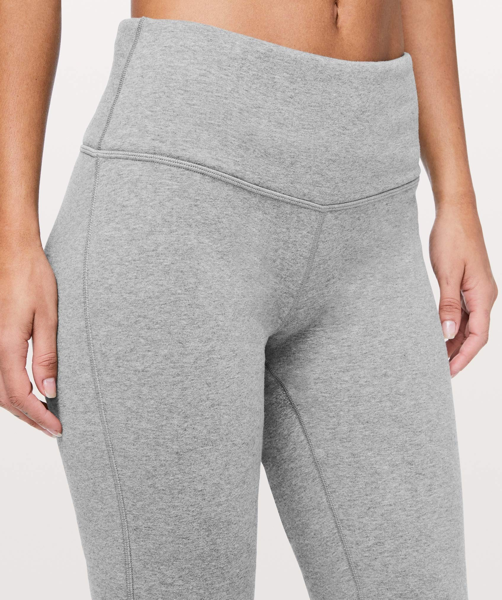 Lululemon Wunder Lounge Pant - HCMG (Heathered Core Medium Grey) (4) by Lululemon (Image #2)