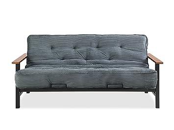 Amazon.com: Simmons futones Phoenix Marco y colchón, Madera ...