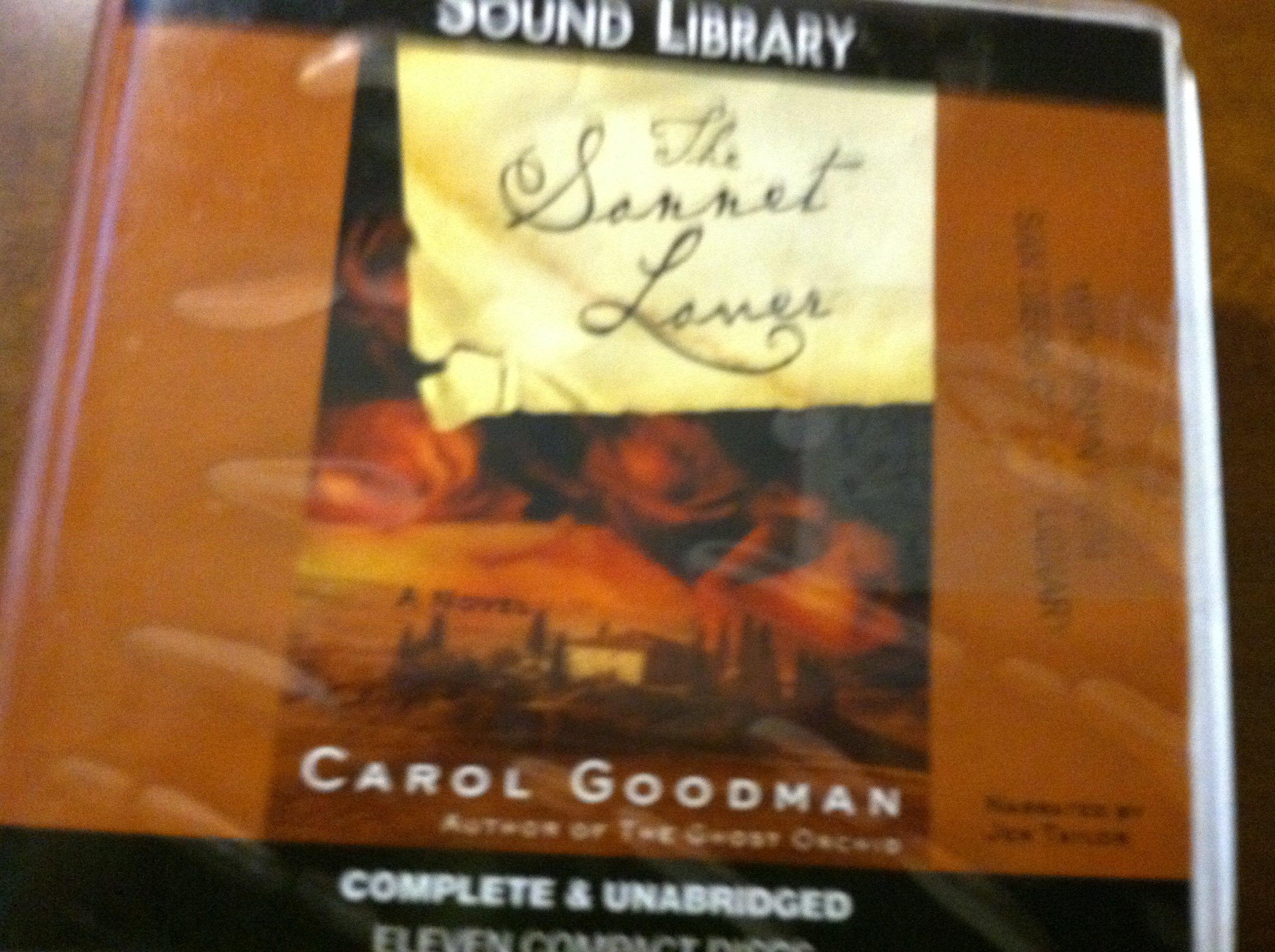 The Sonnet Lover: Carol Goodman, Jen Taylor: 9780792748656: Amazon:  Books