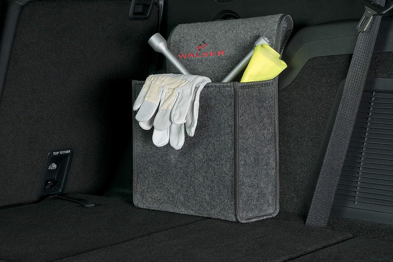 TGFOF Gep/äck Kofferraum Netztasche Universal Nylon Aufbewahrungsnetz mit Klettverschluss Autositz Kofferraumnetz Organizer f/ür Auto Van SUV 40*25cm