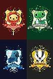 Harry Potter Hufflepuff House Crest Badger Cotton