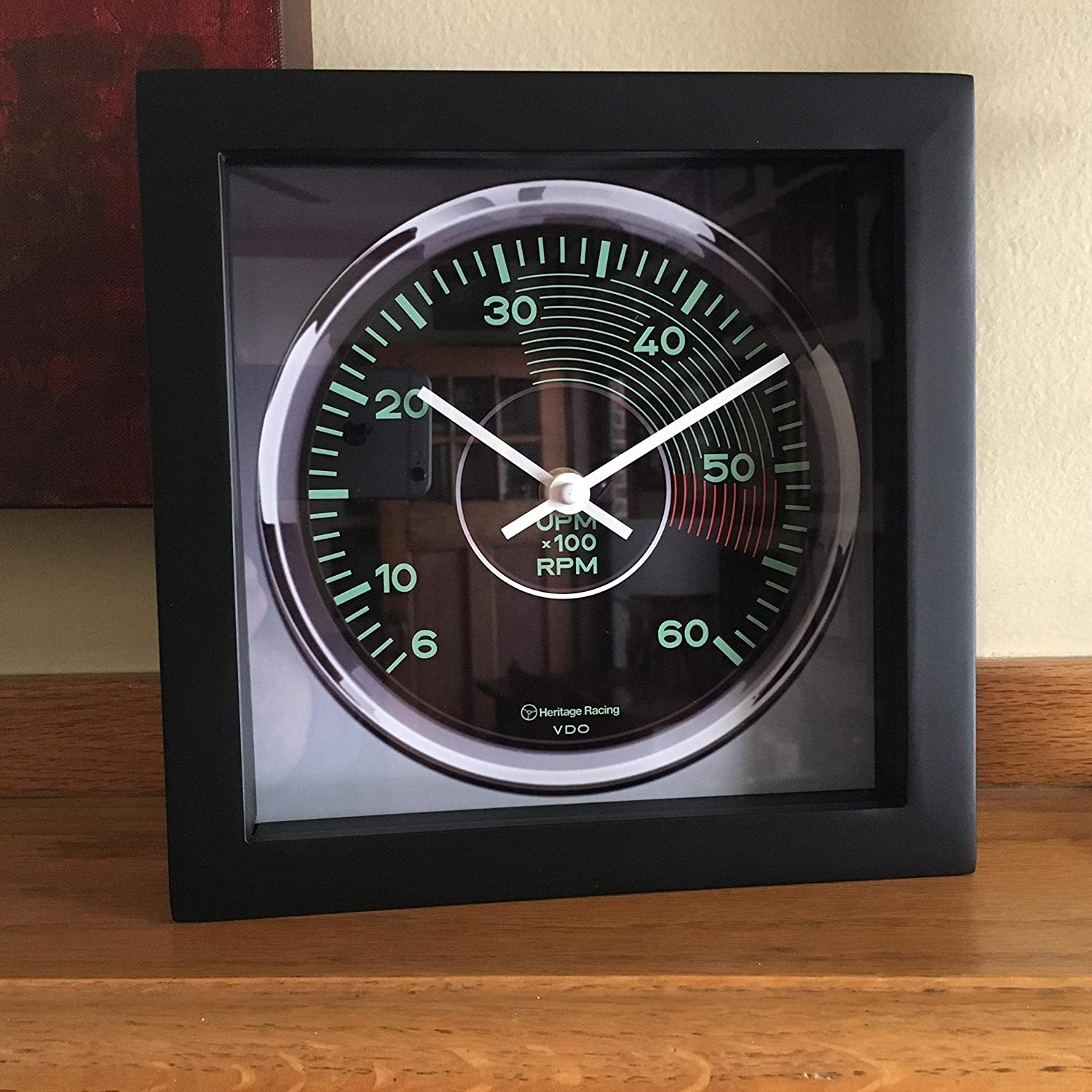 Porsche 356 Tachometer Wall/Shelf Clock