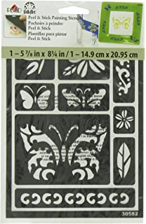FolkArt Peel And Stick Painting Stencil 30582 Butterfly