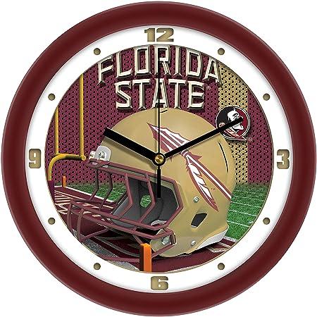 SunTime Football Helmet Wall Clock