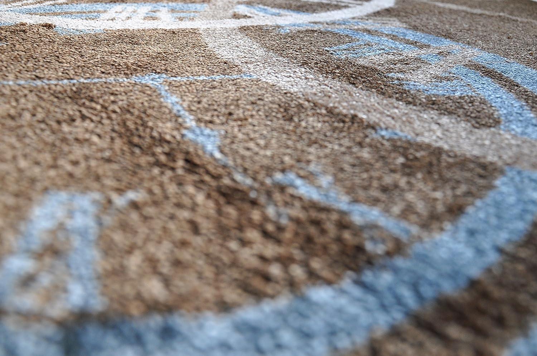 LifeStyle-Mat Designer Fussmatte Haustür – Fussmatten Rutschfest und und und waschbar – Schmutzfangmatte Fussabstreifer – BRAUN 50x150cm B0112JMH5I Fumatten 9fbc48