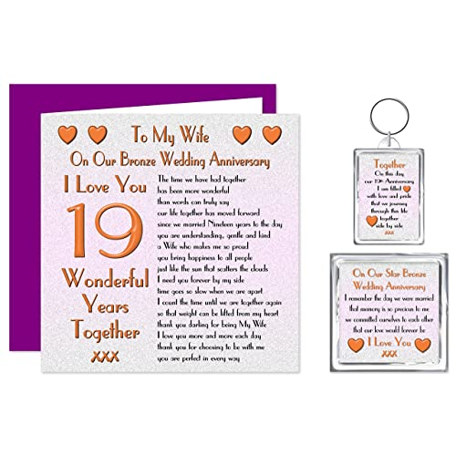 Gifts For 19th Wedding Anniversary: 19th Wedding Anniversary Gifts: Amazon.co.uk