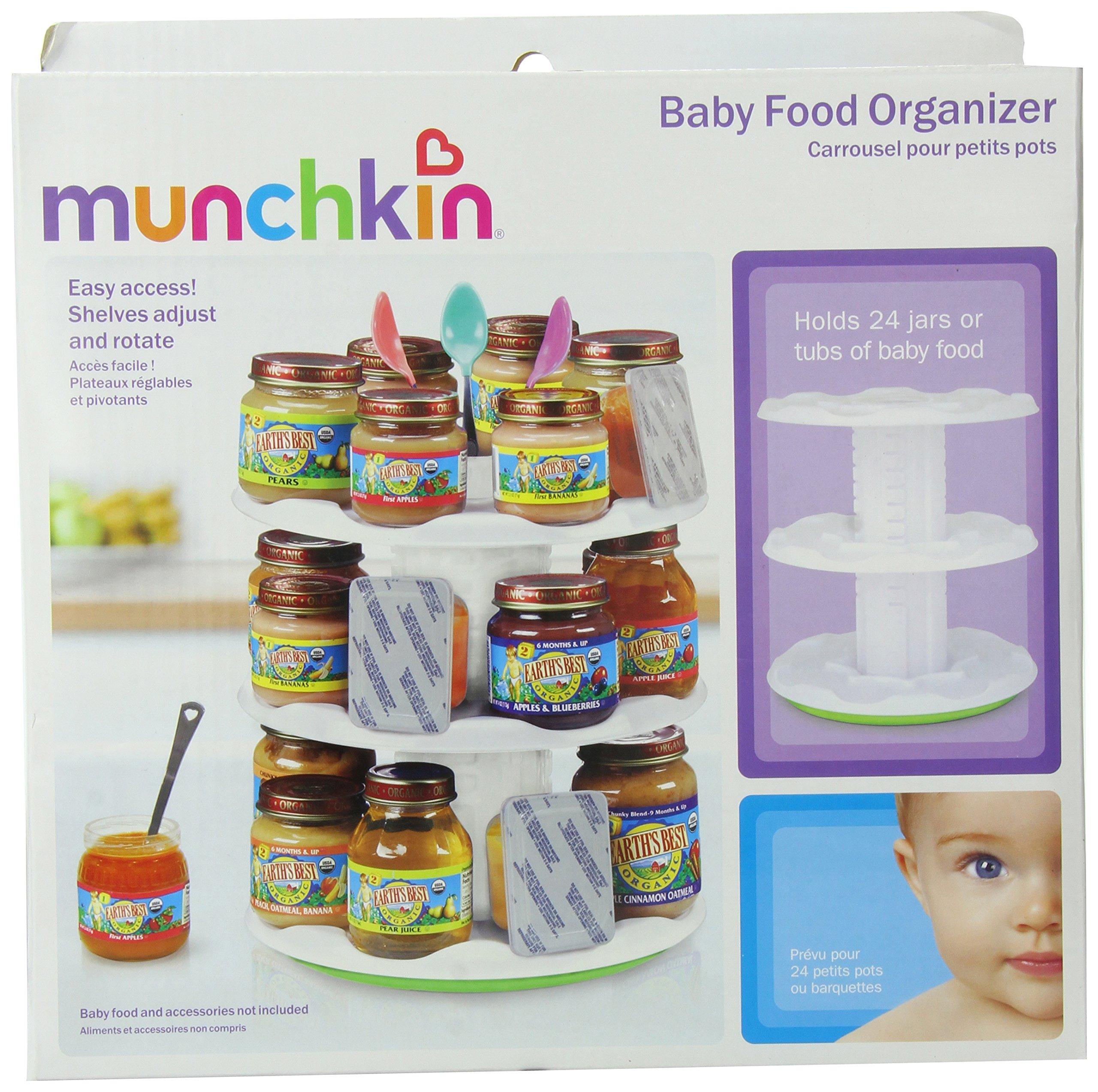 Munchkin baby food pouch organizer