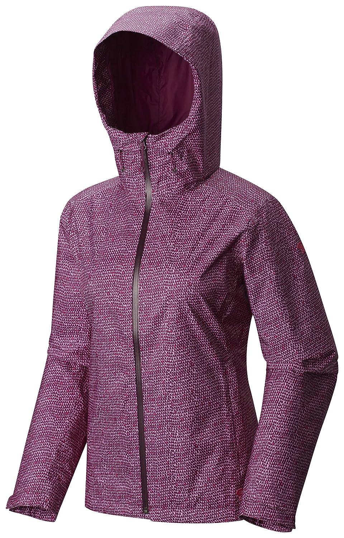 Dark Raspberry Mountain Hardwear Women's Finder Printed Jacket