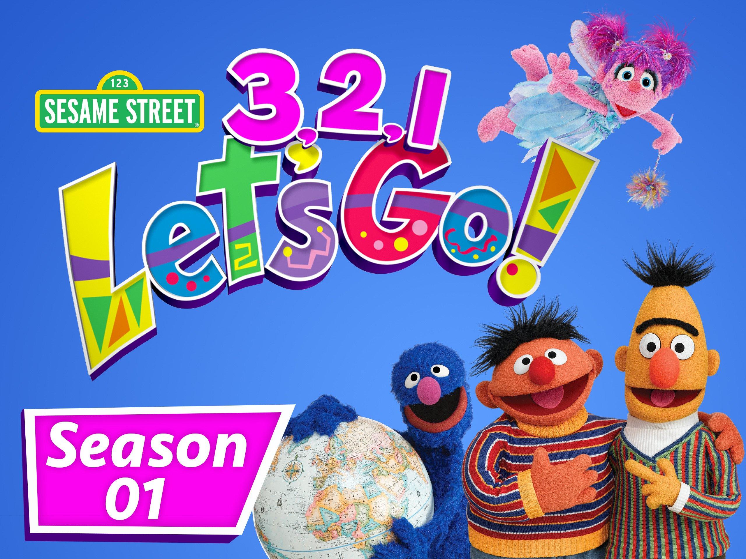 Amazon Sesame Street 3 2 1 Let s Go Season 1