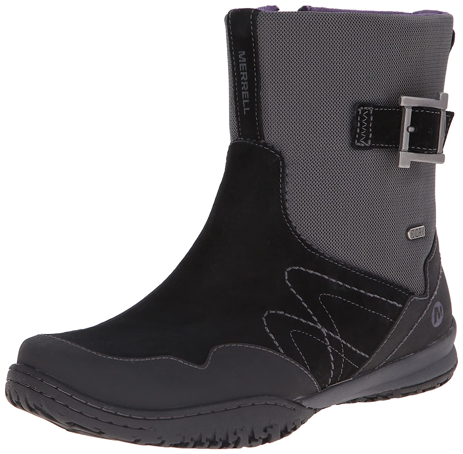 Merrell Women's Albany Sky Waterproof Mid Boot B00RDPVKVS 10 B(M) US|Black