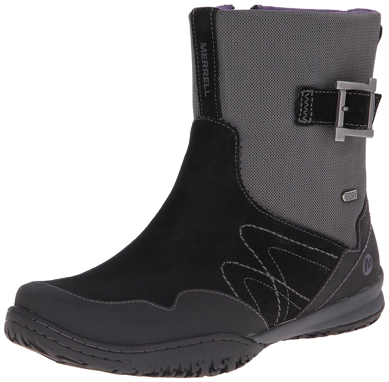 Merrell Women's Albany Sky Waterproof Mid Boot B00RDPVF4A 6.5 B(M) US|Black