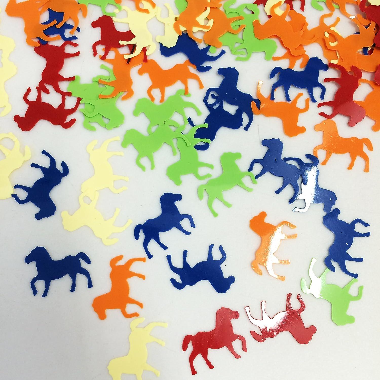 7x22mm 1//4x7//8 Inch PEPPERLONELY 45 Grams Multi-Color Dinosaur Plastic Confetti Table Decortion