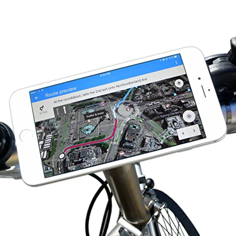 bikephone - magnético Soporte para teléfono móvil de bicicletas ...