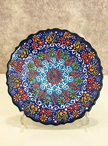 Ceramic Platter Wall Art Handmade