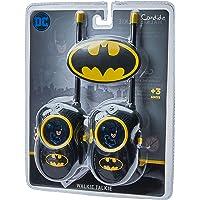 Walkie Talkie Batman Candide Preto/Amarelo