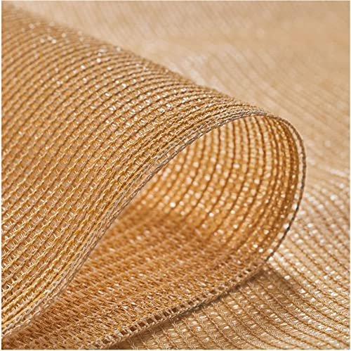 Coolaroo 439743 Screening Shade Fabric in 70 UV Block, 6 x 100 , Sandstone